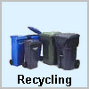 Recycling tote bins